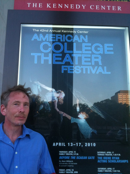Ken Willard at KCACTF in DC